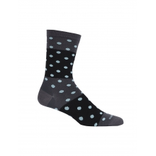Women's LifeStyle Fine Gauge Ultra Light Crew Polka