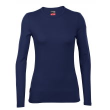 Women's Tech Top Long Sleeve Crewe by Icebreaker in Calgary Ab
