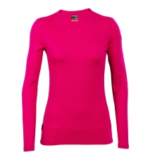 Women's Tech Top Long Sleeve Crewe by Icebreaker in Red Deer Ab