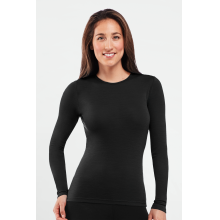 Women's Everyday Long Sleeve Crewe by Icebreaker in Spruce Grove Ab