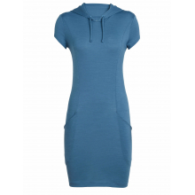 Women's Yanni Hooded Dress by Icebreaker in Fort Mcmurray Ab