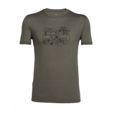Mens Tech Lite Short Sleeve Crewe Van Life
