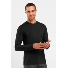 Men's Tech Lite Long Sleeve Crewe by Icebreaker in Red Deer Ab