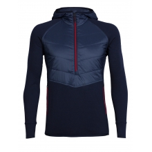 Men's Ellipse LS Half Zip Hood by Icebreaker in St Albert Ab