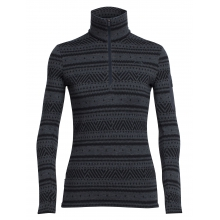 Women's Vertex LS Half Zip Icon Fairisle by Icebreaker