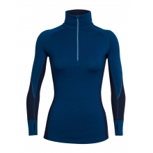 Women's Winter Zone LS Half Zip by Icebreaker in Calgary Ab