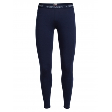 Women's Winter Zone Leggings by Icebreaker in Cold Lake Ab