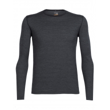 Men's Oasis LS Crewe Toothstripe by Icebreaker