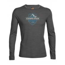 Men's Oasis LS Crewe Alpine Crest by Icebreaker