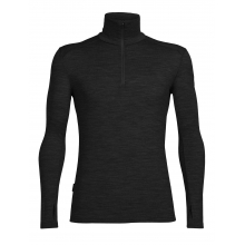 Men's Tech Top Long Sleeve Half Zip by Icebreaker in Kelowna Bc