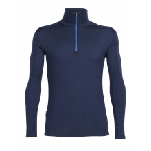 Men's Tech Top Long Sleeve Half Zip by Icebreaker in Revelstoke Bc