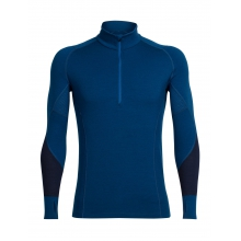 Men's Winter Zone LS Half Zip by Icebreaker in Red Deer Ab