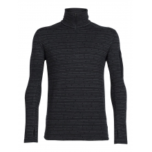 Men's Apex LS Half Zip Toothstripe by Icebreaker