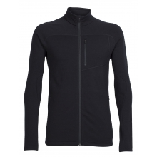 Men's Mt Elliot LS Zip by Icebreaker in Red Deer Ab