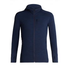 Men's Descender LS Zip Hood by Icebreaker in Santa Barbara Ca