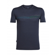 Mens Tech Lite Short Sleeve Crewe Waterline