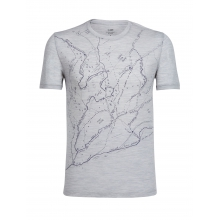 Mens Tech Lite Short Sleeve Crewe Finding the Way by Icebreaker