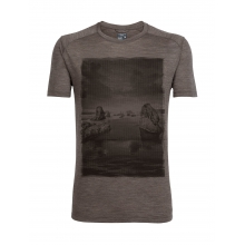 Mens Sphere Short Sleeve Crewe Low Tide by Icebreaker