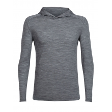 Men's Sphere LS Hood by Icebreaker in Red Deer Ab