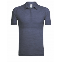 Men's Sphere SS Polo by Icebreaker in Red Deer Ab