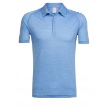 Men's Sphere SS Polo by Icebreaker in Nelson Bc