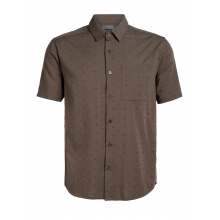Mens Compass SS Shirt by Icebreaker in Red Deer Ab