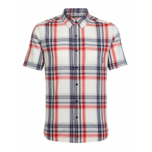 Mens Compass Short Sleeve Shirt by Icebreaker in Red Deer Ab