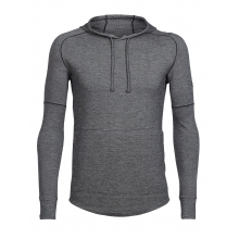 Mens Momentum Long Sleeve Hood by Icebreaker
