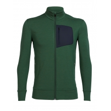 Mens Momentum Long Sleeve Zip by Icebreaker