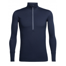 Men's Incline LS Half Zip by Icebreaker in Nelson Bc