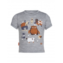 Kids Tech Lite Short Sleeve Bigfoot Barnyard by Icebreaker