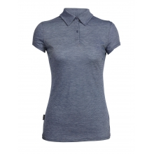 Womens Sphere Short Sleeve Polo by Icebreaker in Santa Barbara Ca