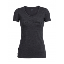 Womens Tech Lite Short Sleeve Scoop Embrace the Journey by Icebreaker