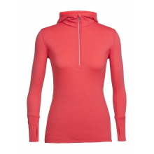 Women's Rush LS Half Zip Hood