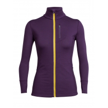 Women's Rush LS Zip by Icebreaker in Nelson Bc