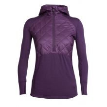 Women's Ellipse LS Half Zip Hood