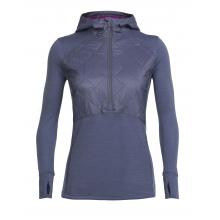 Women's Ellipse LS Half Zip Hood by Icebreaker