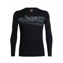 Men's Oasis LS Crewe Pyrenees by Icebreaker in Squamish Bc