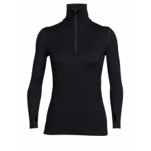 Women's Tech Top LS Half Zip by Icebreaker in Red Deer Ab