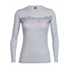 Women's Oasis LS Crewe Sky Sunset by Icebreaker in Calgary Ab