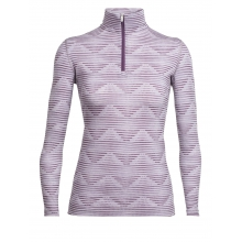 Women's Oasis LS Half Zip Diamond Line by Icebreaker