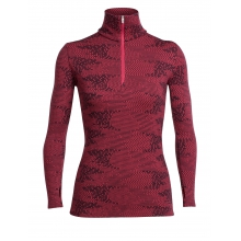 Women's Vertex LS Half Zip Flurry