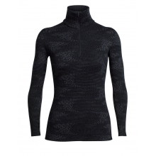 Women's Vertex LS Half Zip Flurry by Icebreaker in Lethbridge Ab