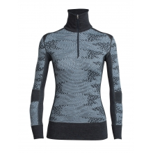 Women's Affinity LS Half Zip Flurry