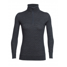 Women's Affinity Thermo LS Half Zip by Icebreaker