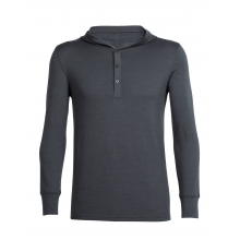 Men's Trailhead Pullover Hoody by Icebreaker in Pitt Meadows Bc
