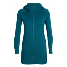 Women's Dia Long Hooded Jacket by Icebreaker in Bentonville Ar