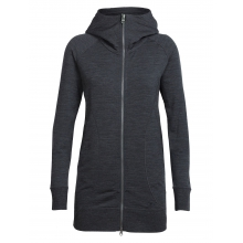 Women's Dia Long Hooded Jacket by Icebreaker in Fort Collins Co