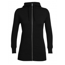 Women's Dia LS Zip Hood by Icebreaker