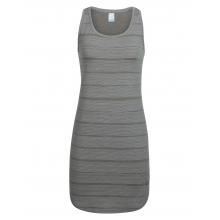 Women's Yanni Tank Dress Combed Lines by Icebreaker in New Denver Bc